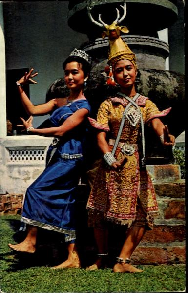 Thai Classical Dance Thailand Southeast Asia