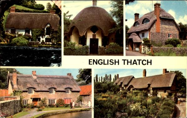 English Thatch Scenic England