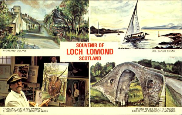 Souvenir Of Loch Lomond Scotland