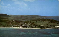 Antigua Beach Hotel Postcard