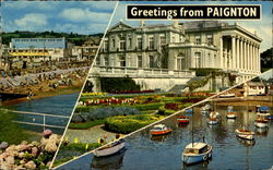 Greetings From Paignton Postcard