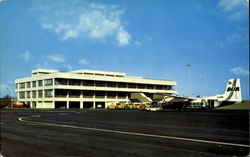 Newcastle Airport Postcard