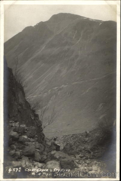 Great Gable & Sty Had Piers Ghyll England