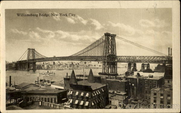 Williamsburg Bridge New York City