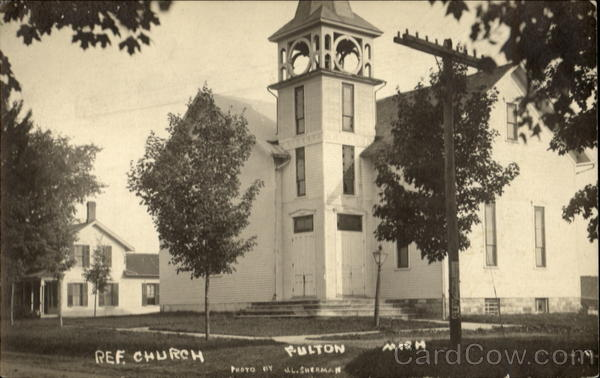 Ref. Church Fulton Michigan