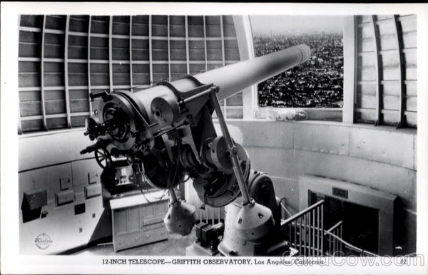 Griffith Observatory 12-Inch Telescope Los Angeles California