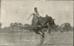 Lee Caldwell On A Flying Devil