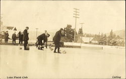 Curling Lake Placid Club