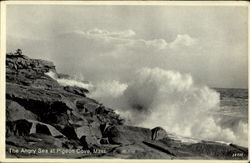 The Angry Sea At Pigeon Cove