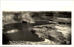 Dry Falls Of The Columbia Grand Coulee