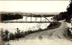 Kennebec Bridge Postcard