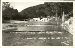 Fly Fishing, Roaring River State Park