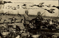1907 Duck Hunting Oklahoma