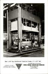 1,000 Ton Reinforced Plastics Press Postcard