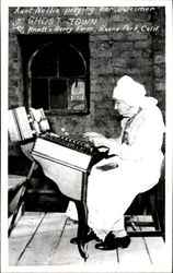 Aunt Nellie Playing He Dulcimer City Ghost Town
