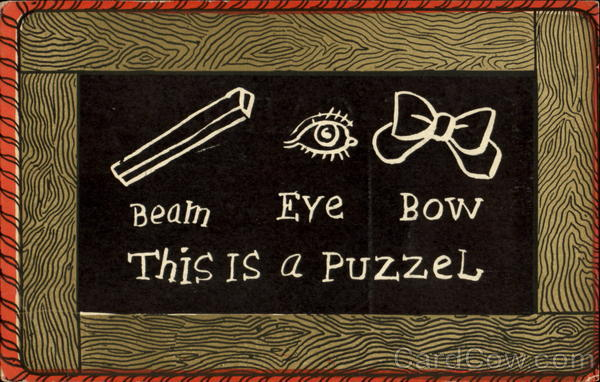 Beam Eye Bow This Is A Puzzel Puzzles