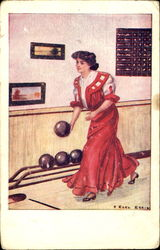 Woman Bowling 554