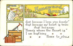 Homeward Bound Postcard