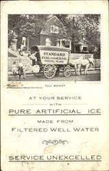 Standard Fuel & Ice Co. Delivery Wagon
