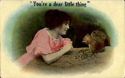 You're A Dear Little Thing Postcard