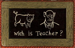Wich Is Teacher?