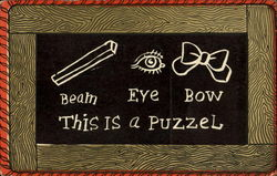 Beam Eye Bow This Is A Puzzel