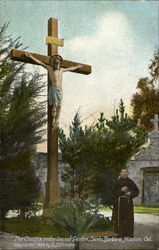 The Crucifix In The Sacred Garden