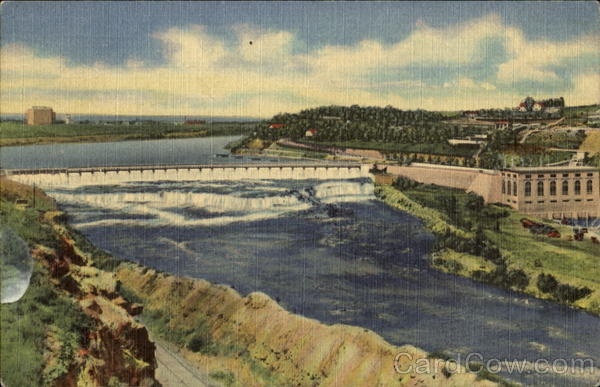 Black Eagle Dam And Power Plant Great Falls Montana