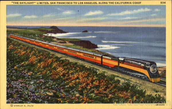 The Daylight Limited California Trains, Railroad