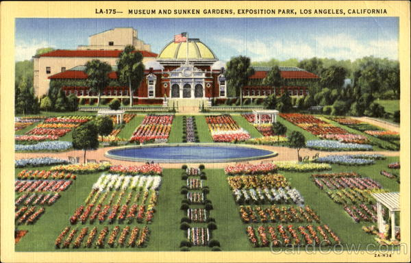 Museum And Sunken Gardens, Exposition Park Los Angeles California