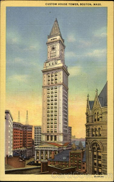 Custom House Tower Boston Massachusetts
