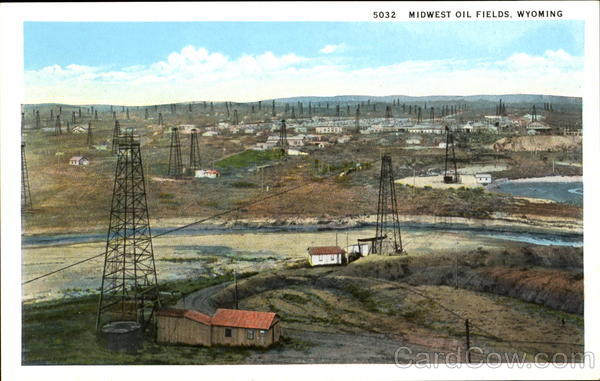 Midwest Oil Fields Wyoming