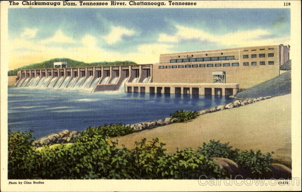 The Chickamauga Dam, Tennessee River Chattanooga