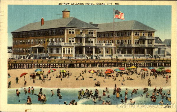 New Atlantic Hotel Ocean City Maryland