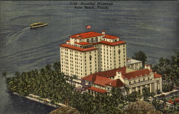 Whitehall Hotel Palm Beach Florida