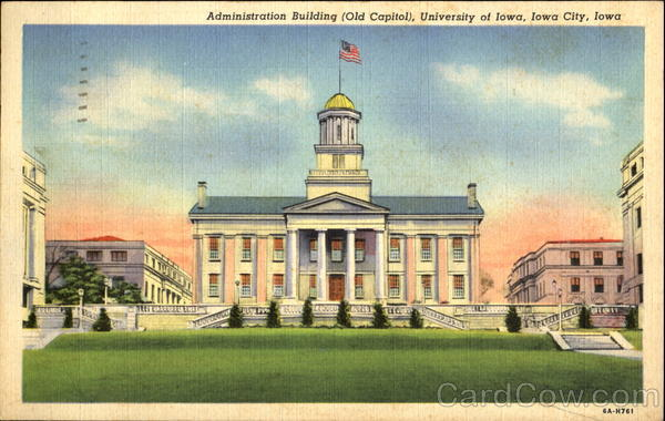 Administration Building, University Of Iowa Iowa City