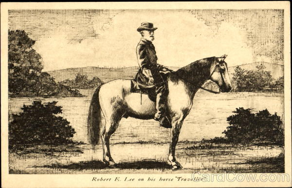 Robert E. Lee On His Horse Traveller Lexington Virginia
