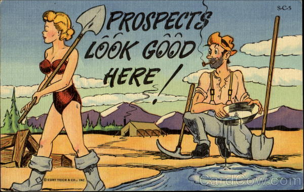 Prospects Look Good Here! Comic, Funny