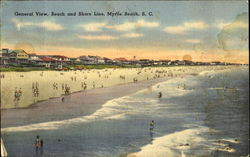 General View Beach And Shore Line