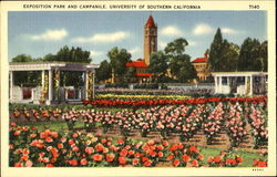 Exposition Park And Campanile, University Of southern alifornia