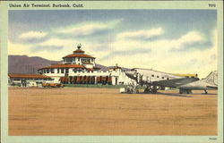 Union Air Terminal Postcard