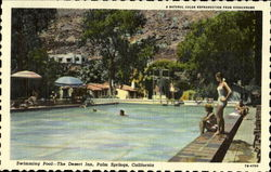 Swimming Pool-The Desert Inn