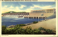 The Chickamauga Dam, Tennessee River