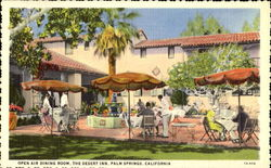 Open Air Dining Room, The Desert Inn