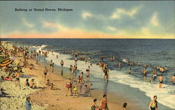 Bathing At Grand Haven