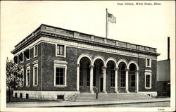 Post Office And Federal Building Postcard