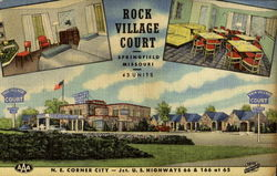 Rock Village Court, U. S. Highways 66 & 166 at 65