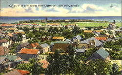 Air View Of Fort Taylor From Lighthouse