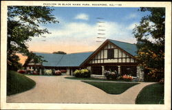 Pavilion In Black Hawk Park Postcard