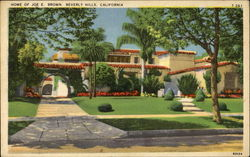 Home Of Joe E. Brown Postcard